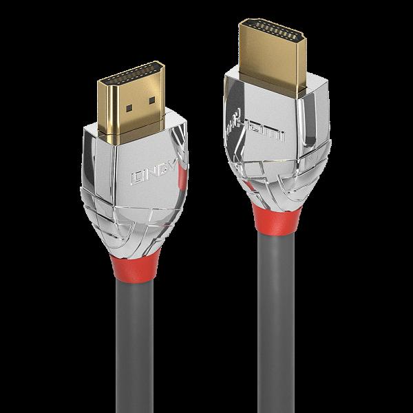 LINDY 3m High Speed HDMI Kabel, Cromo Line