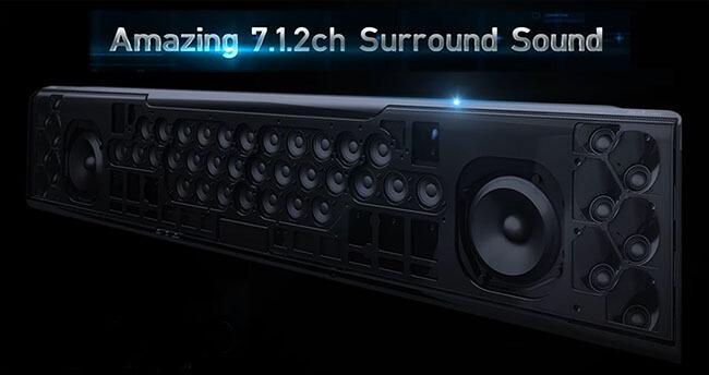 Yamaha Soundprojektor YSP-5600 - beste Soundbar!