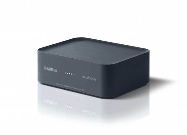 Yamaha MusicCast WXAD-10 Wireless Streaming Adapter, Finish: Dunkelgrau