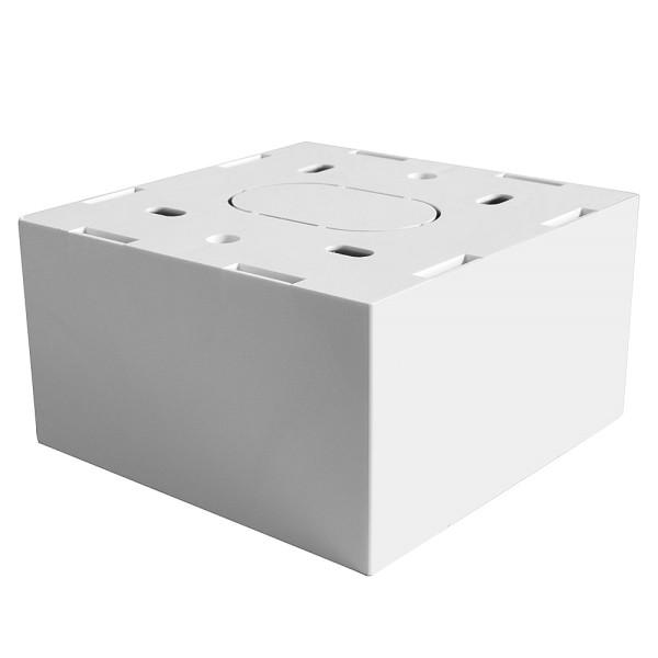 LINDY Aufputzrahmen 86x86mm für Einzel-Wanddosen (UK), 47mm tief