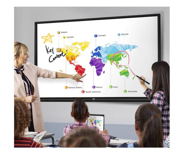 interaktiver Monitor
