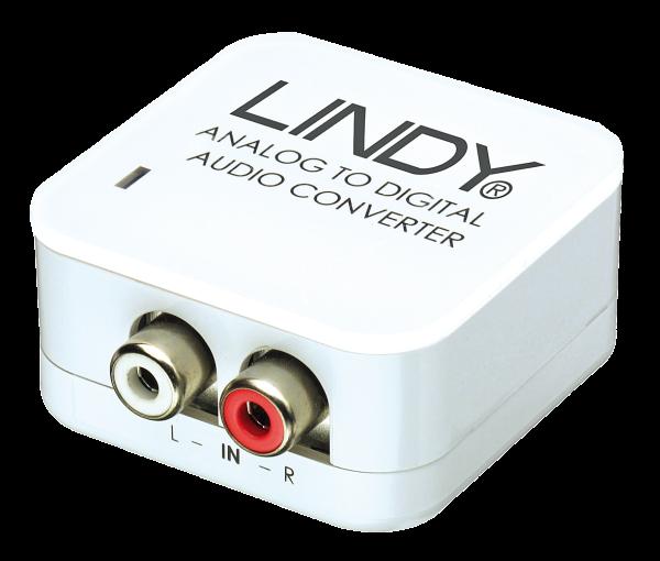 LINDY Stereo auf SPDIF Analog Digital Konverter