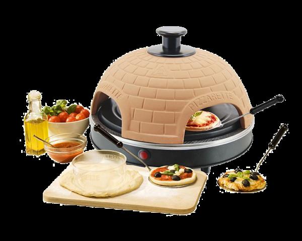 Pizzarette 4-fach Terracotta